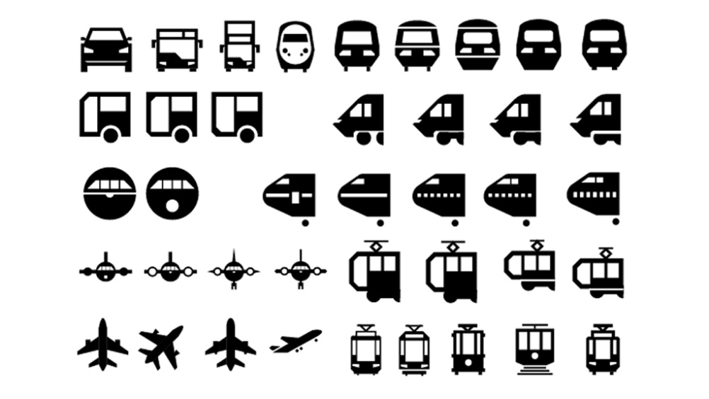 Development of the Travel icons