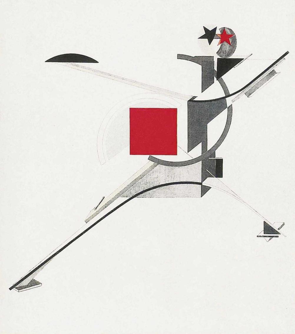 El Lissitzky, New Man, 1921