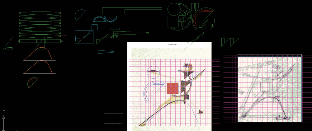 Henry Milner after El Lissitzky, New Man (Progress)