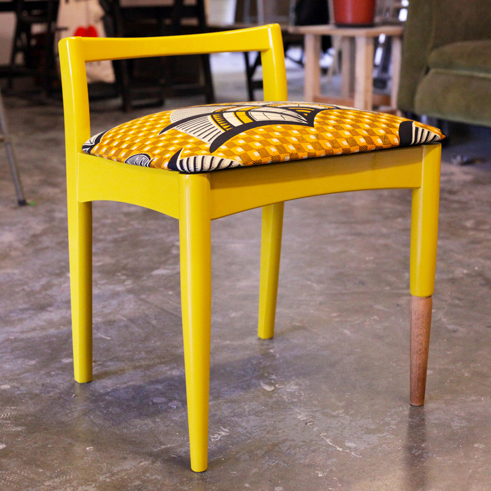 Odd One Out chair by Yinka Ilori