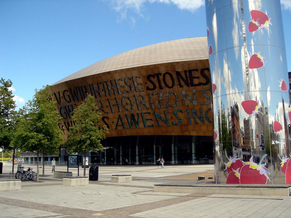 The Cardiff Millennium Centre, venue for the Service Design Global Conference