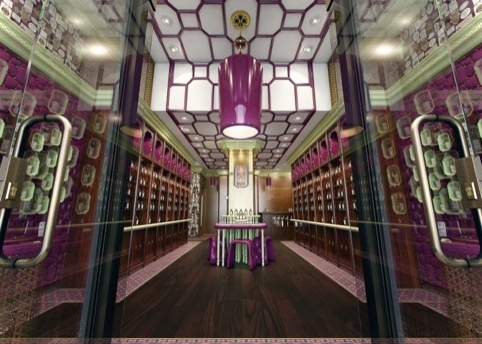 Penhaligon's Regent Street store concept by Christopher Jenner