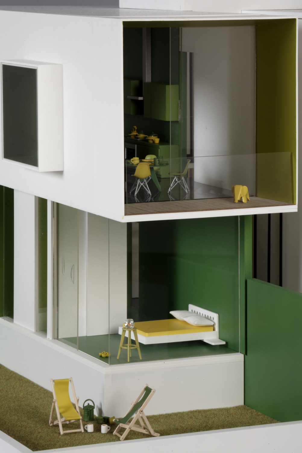 Detail of AHMM's dolls' house