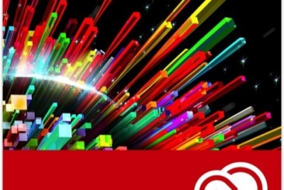 Branding for Adobe's recently launched Creative Cloud, which runs products including Photoshop