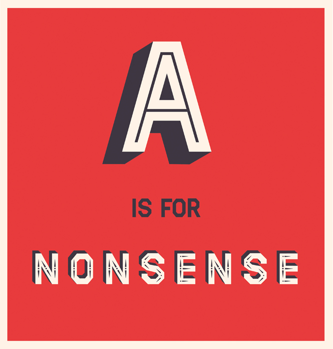 A is for Nonsense, by Andrew Baker