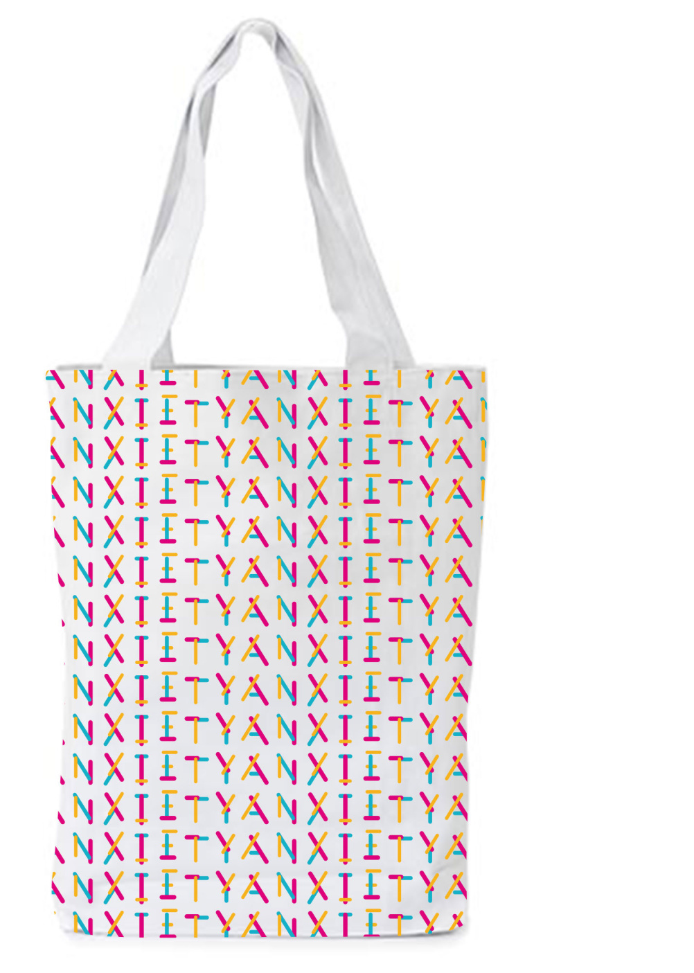 Anxiety Festival tote bag