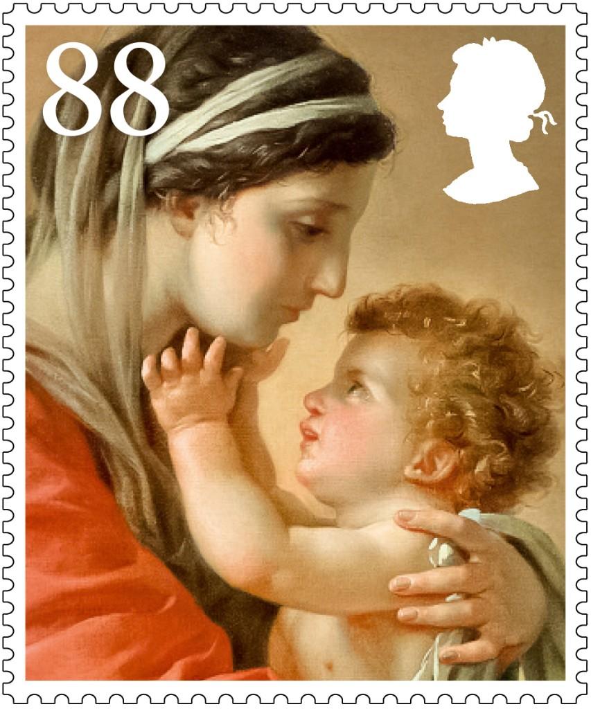 Christmas 2013 88p stamp