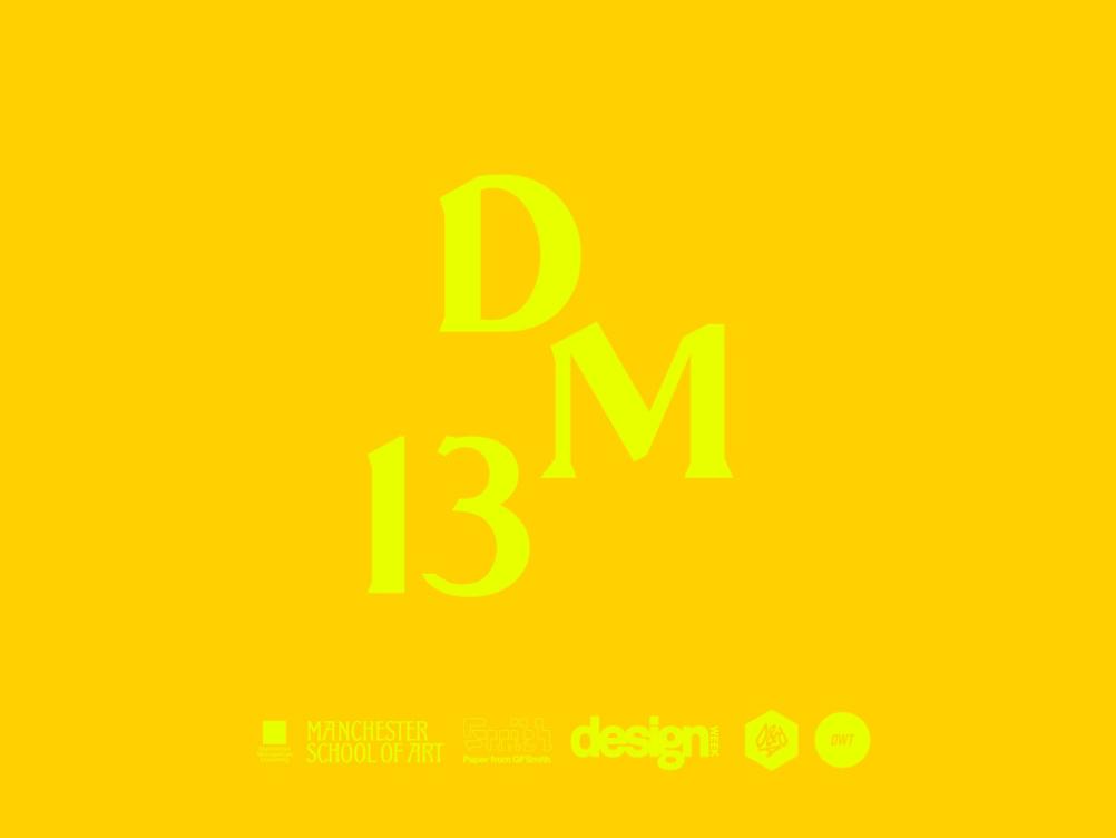 Design Manchester 13 logo