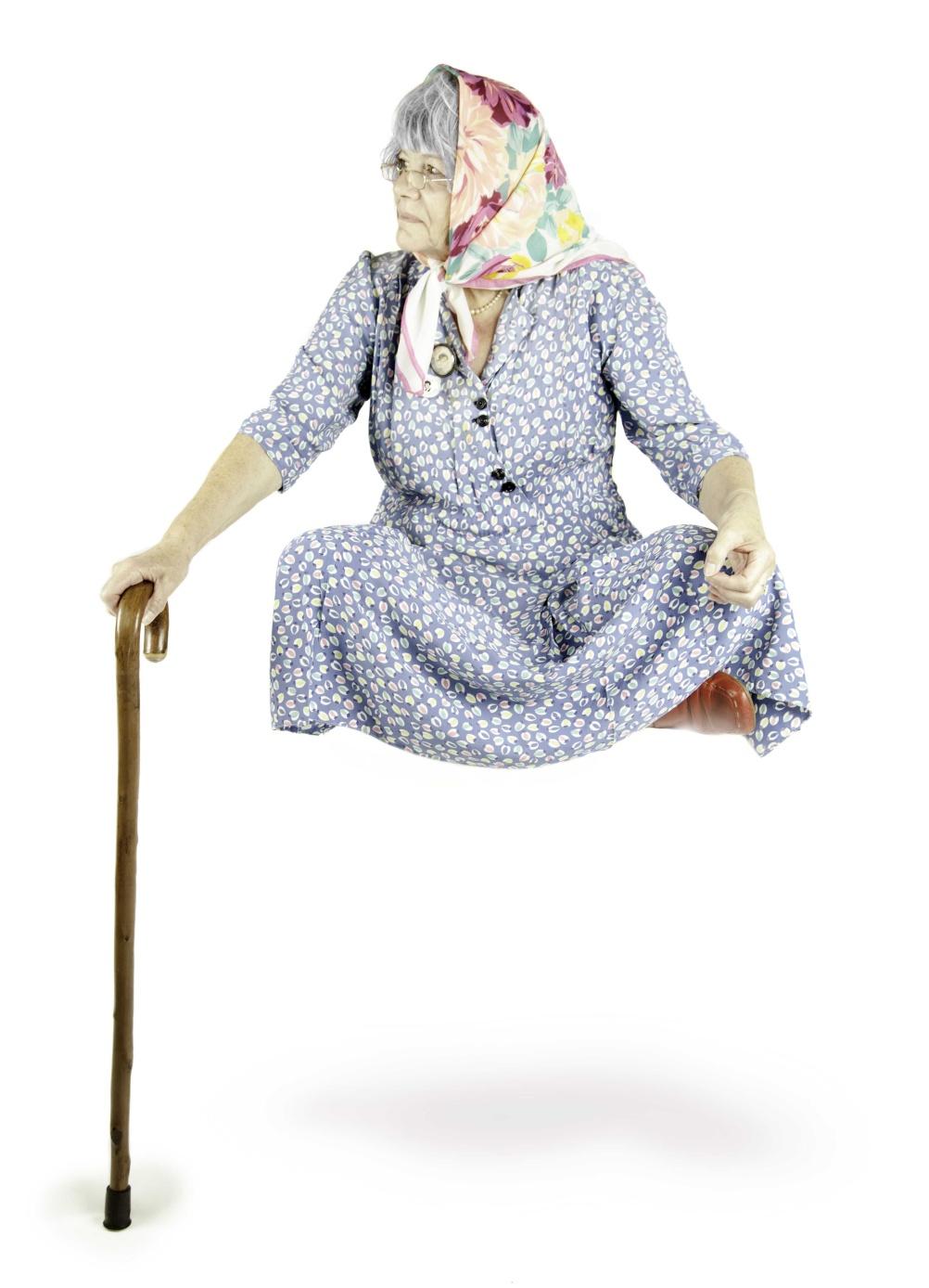 Flying Granny