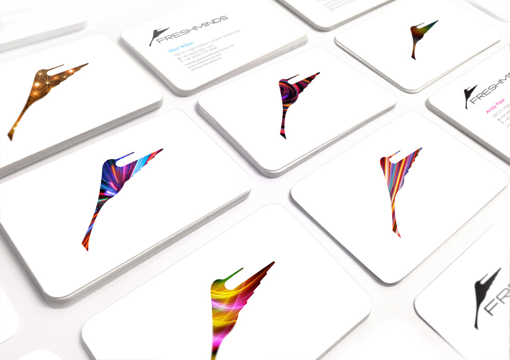 FreshMinds business cards