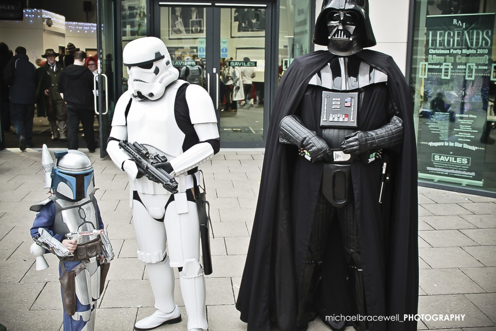 Comic fans at last year's event