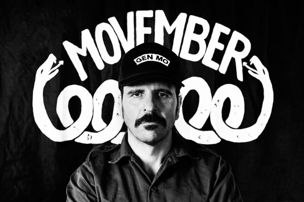 A Movember man