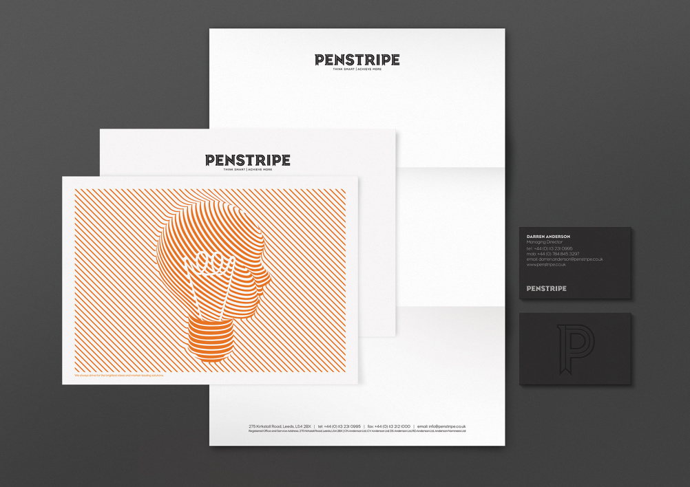 Penstripe stationery