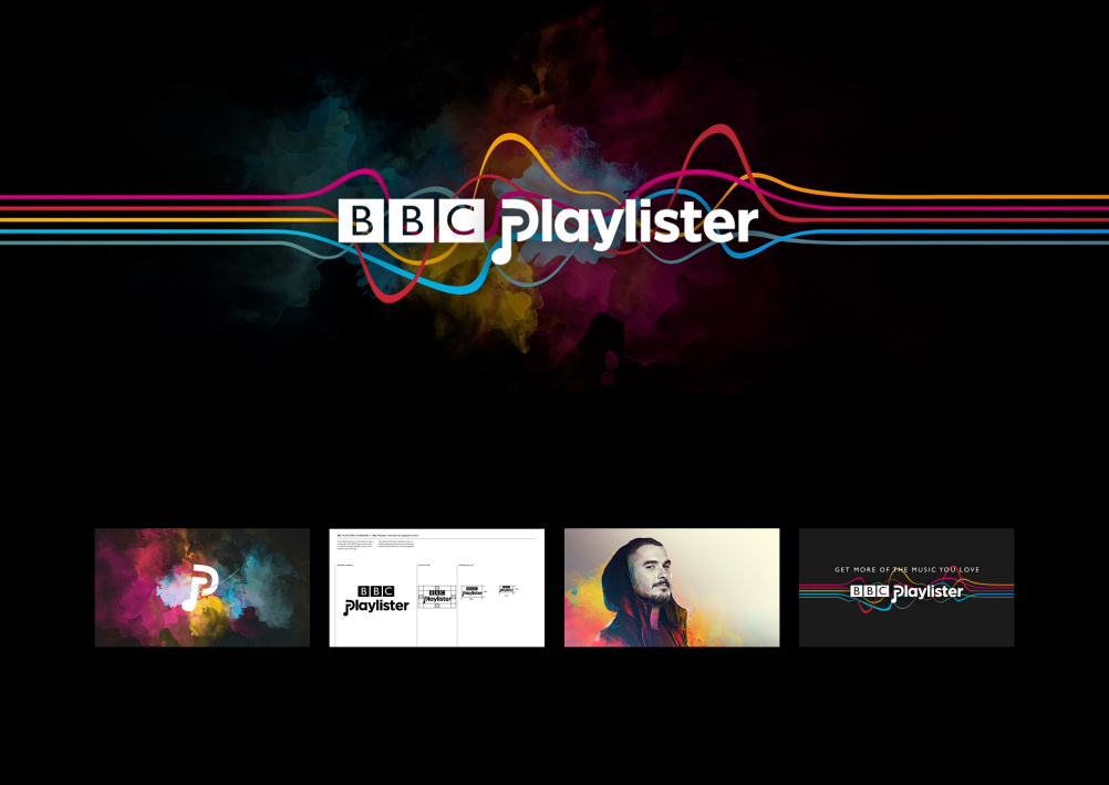 BBC Playlister identity by Stereo