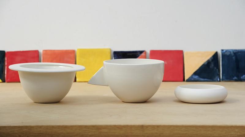 Stacked Bowls by designer Ben Branagan and illustrator/ceramicist Laura Carlin