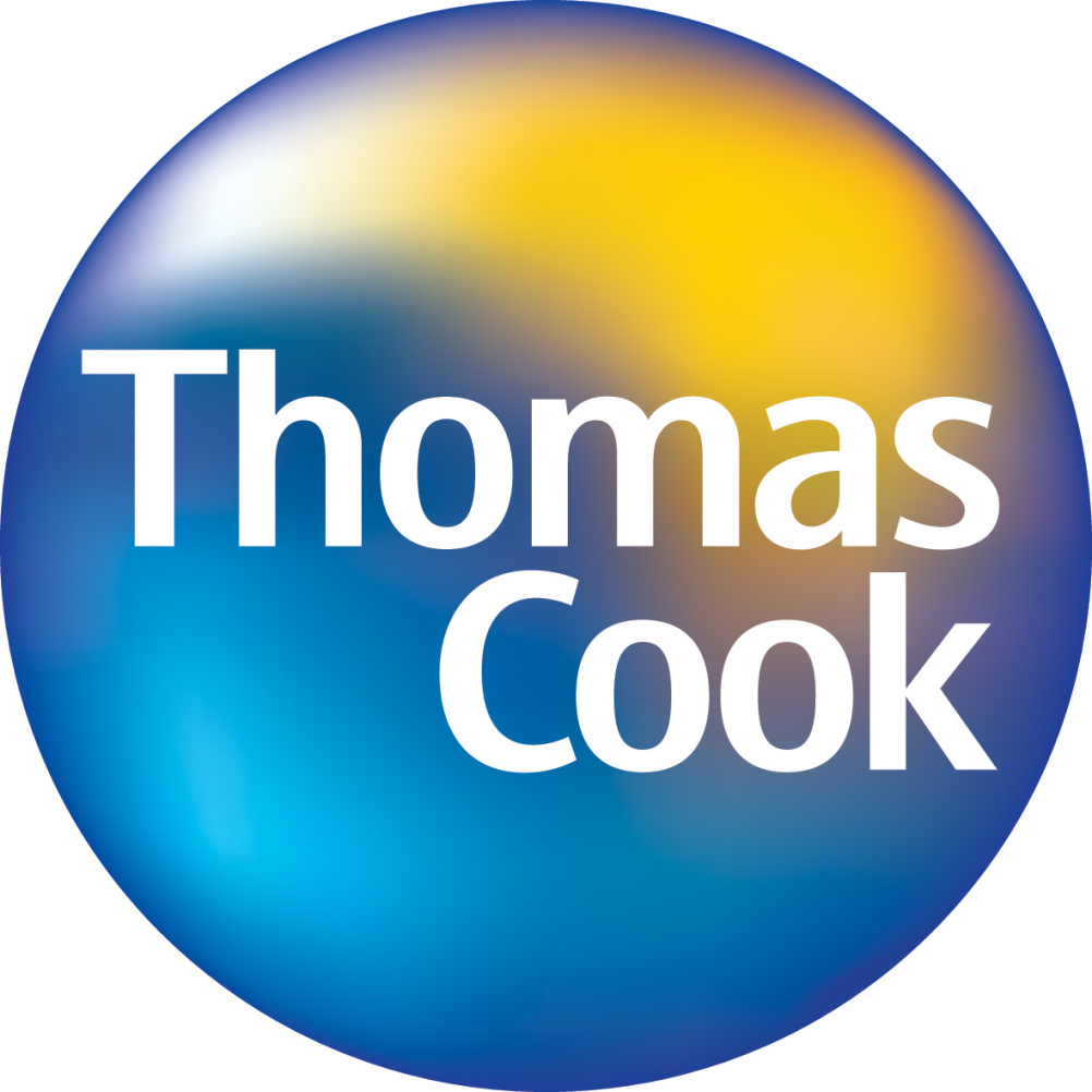 The previous Thomas Cook logo, introduced in 2001