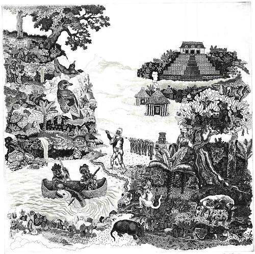 Cuetzpali World, by Rene Ramirez