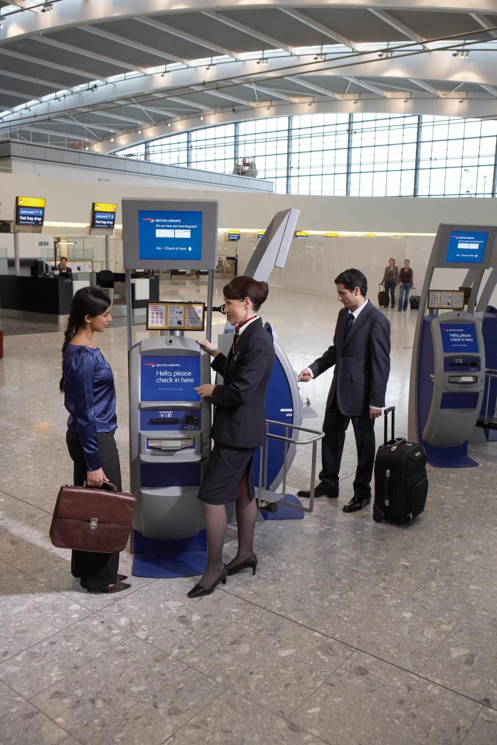 Check in Heathrow Terminal Five