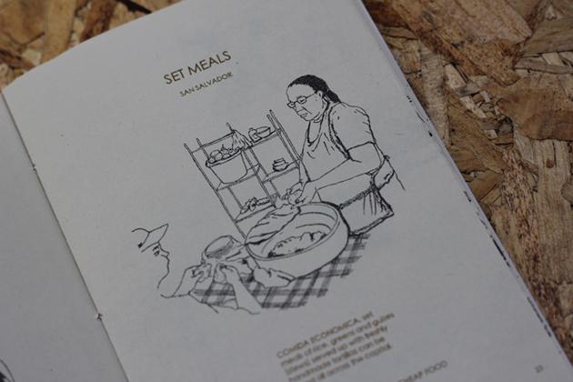 San Salvador Set Meals.
