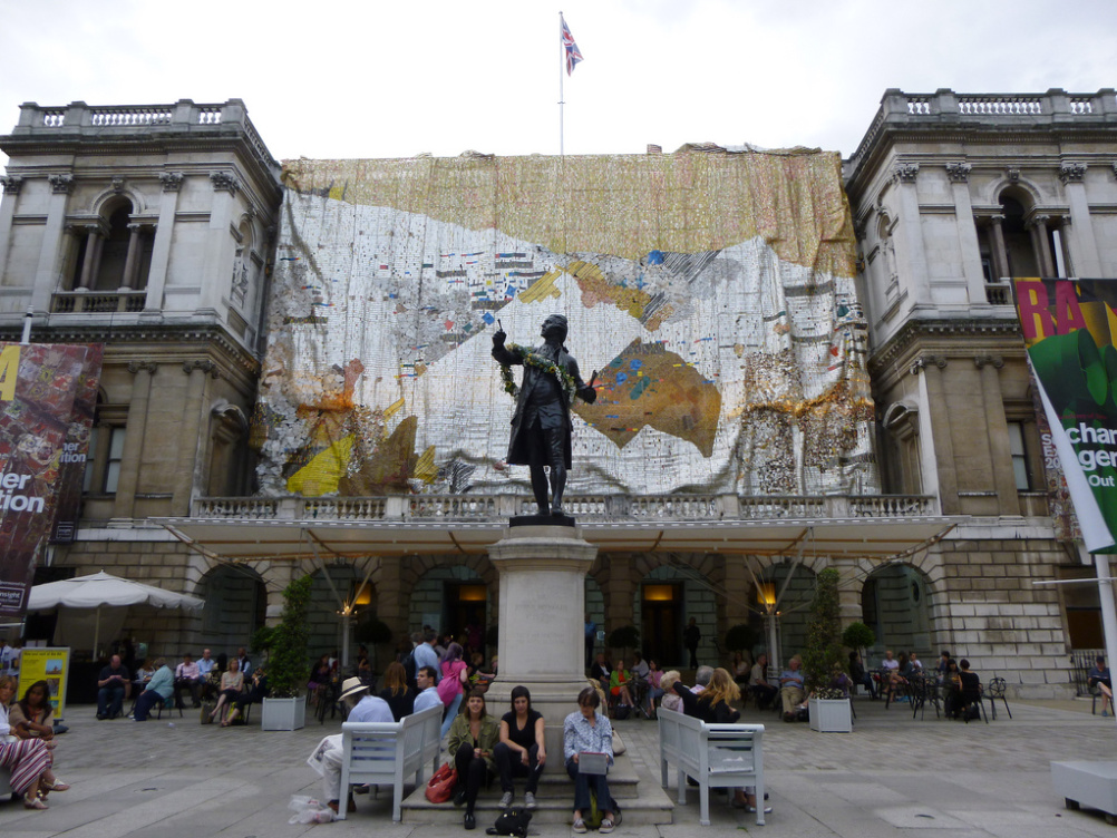 Royal Academy courtyard
