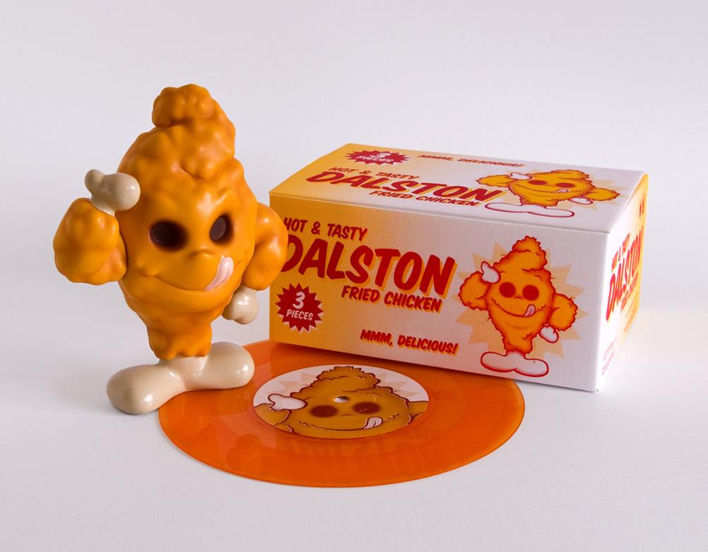 Dalston Fried Chicken vinyl toy