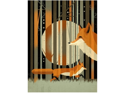 East End Prints fox