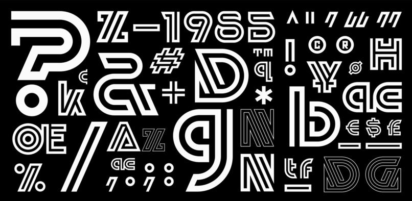 Lunetta typeface