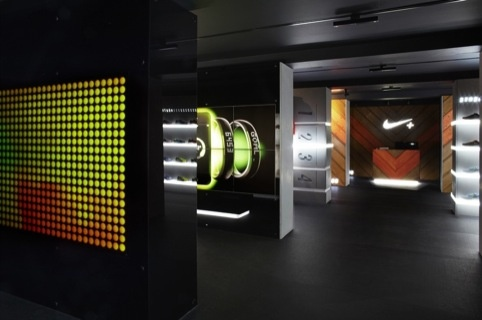 Nike's Boxpark Fuelstation