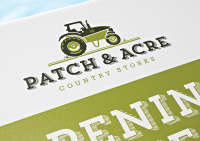 Patch and Acre Sign.