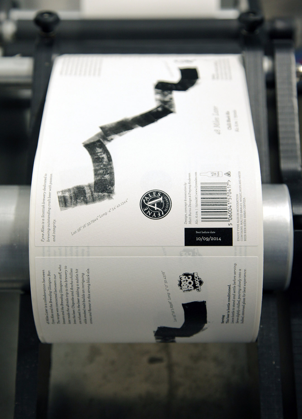 Printing the labels