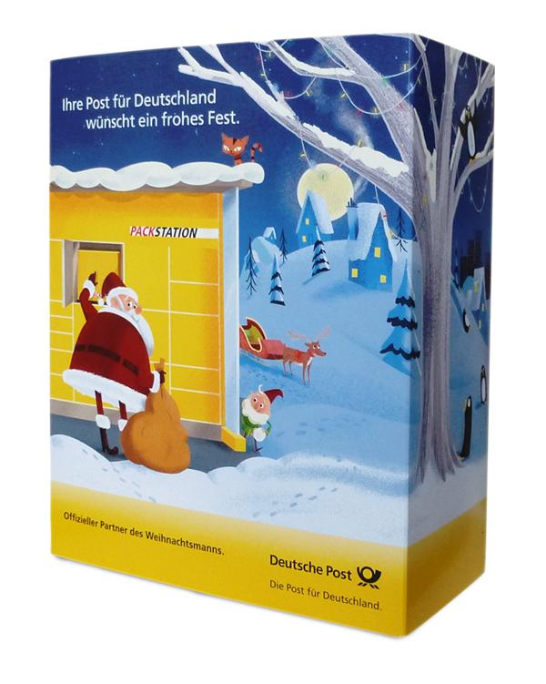 Steve Scott's Deutsche Post advent calendar