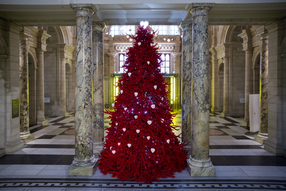 Victoria and Albert Museum Christmas Tree
