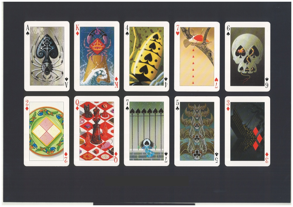 The Key of the Kingdom  Transformation playing cards