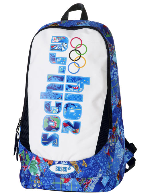 Official Sochi merchandise featuring branding by Interbrand