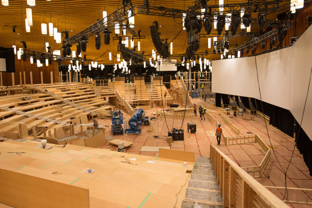 TED Conference theatre by Rockwell Group