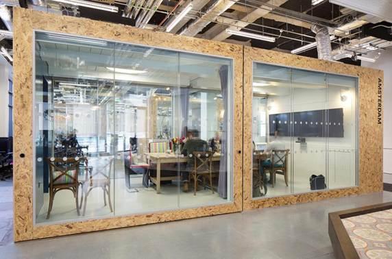 Airbnb Dublin office, designed by Heneghan Peng