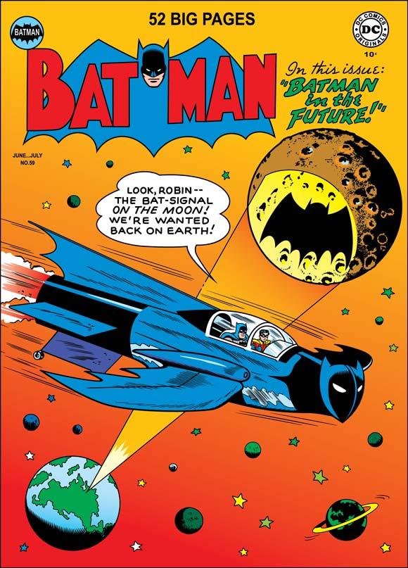 Art by Bob Kane from Batman #59