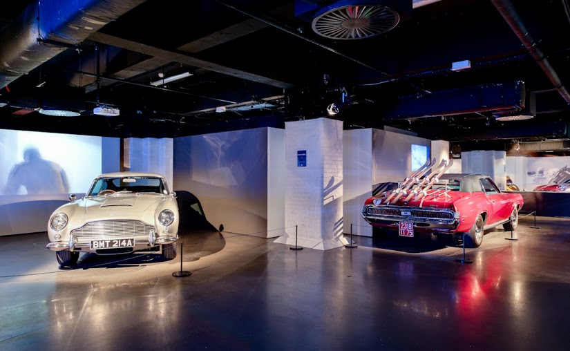 Inside the Bond in Motion exhibition