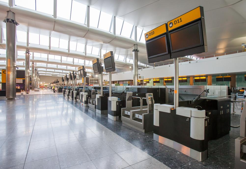 New designs for Heathrow Terminal 2
