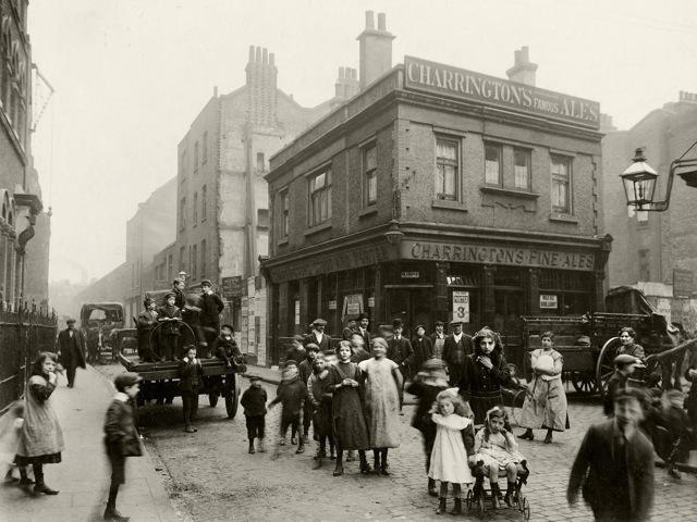 Crispin Street, towards Spitalfieds market