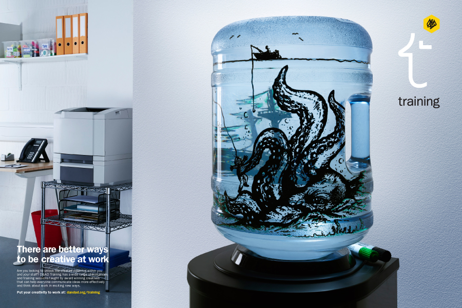 Water cooler art