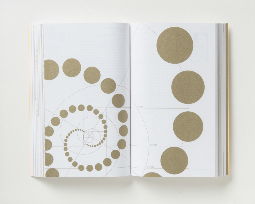 Margot Lombaert demonstrates the Golden Ratio in a spiral