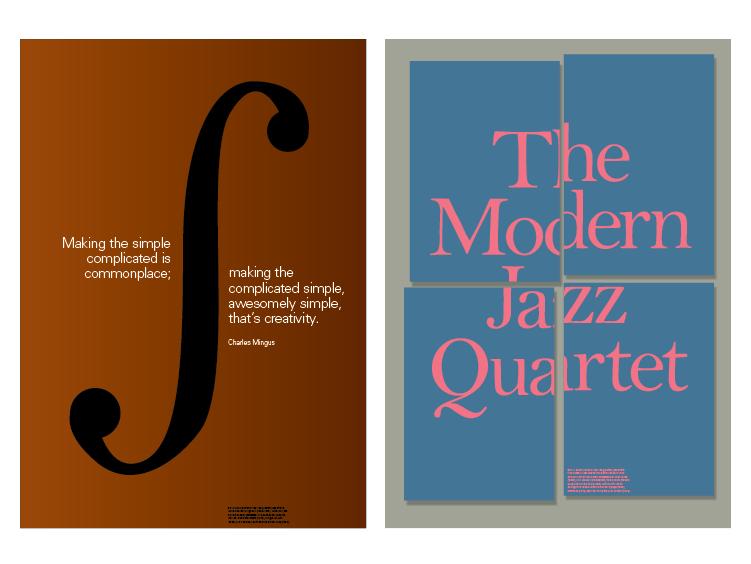 Charlie Mingus and The Modern Jazz Quartet