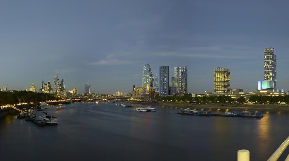 Waterloo Bridge North 10pm