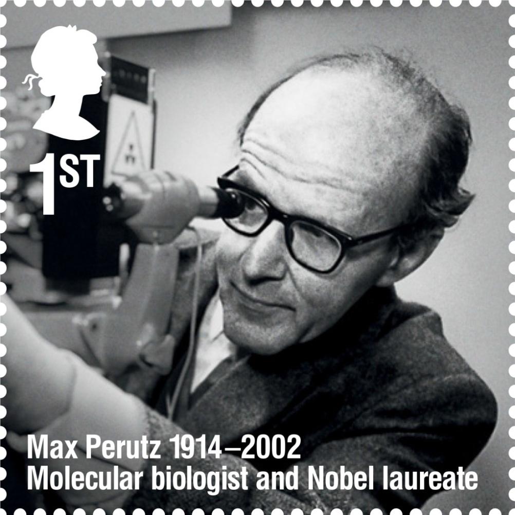 Max Perutz stamp
