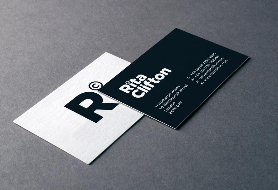 Rita Clifton business cards