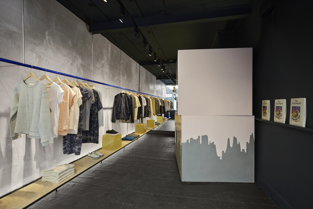 The pop up store