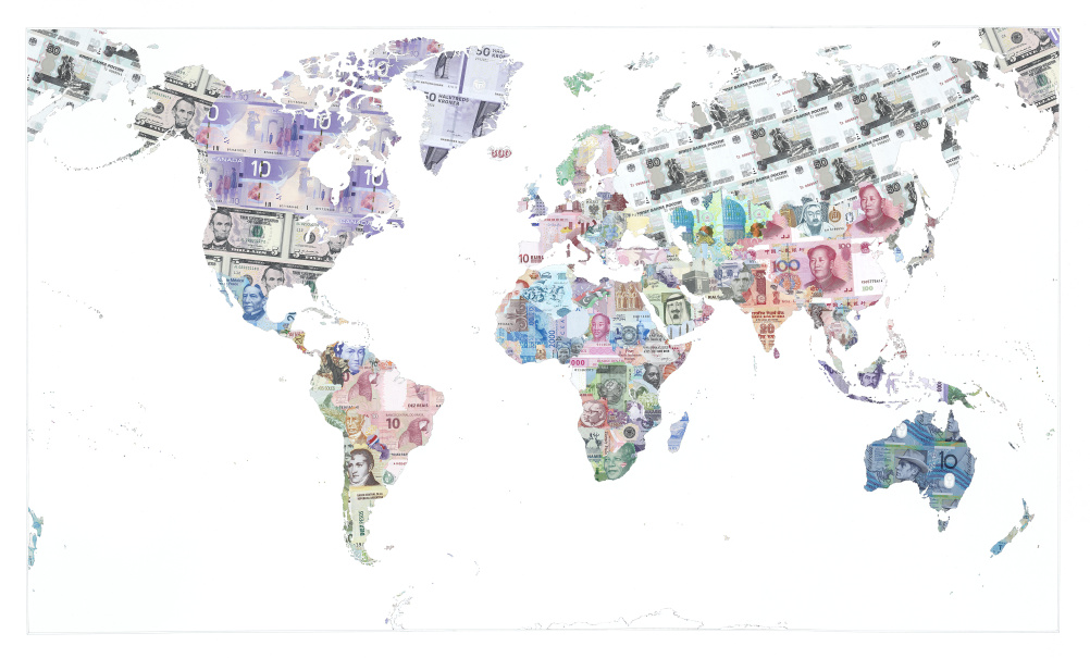 Justine Smith, Money Map of the World