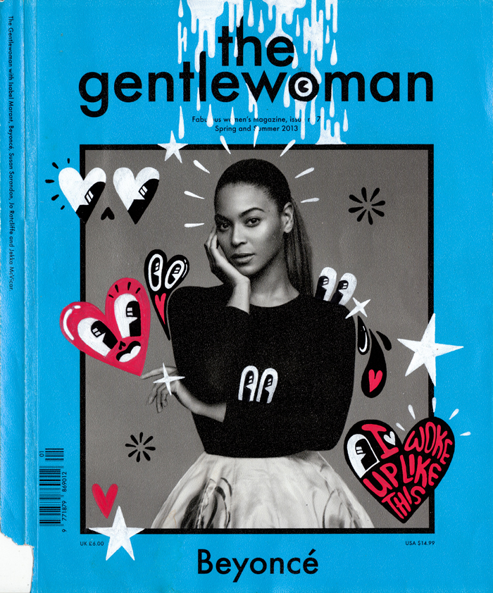 The Gentlewoman cover, featuring Beyonce