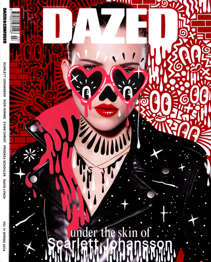 Dazed cover, Scarlett Johansson